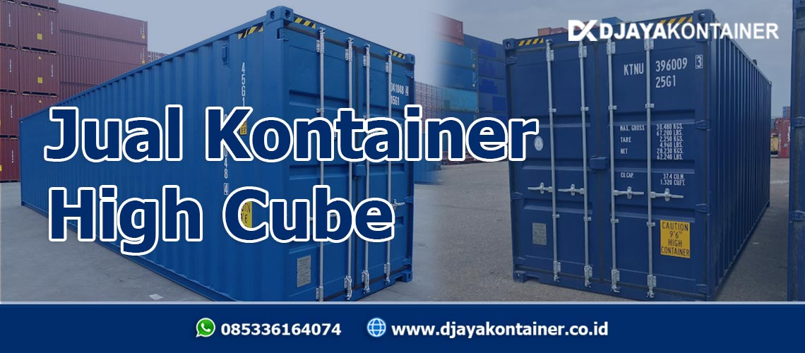 Jual Kontainer High Cube
